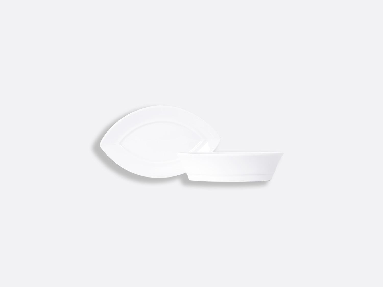 China Zanzibar coupe 6 cl of the collection Fusion blanc | Bernardaud