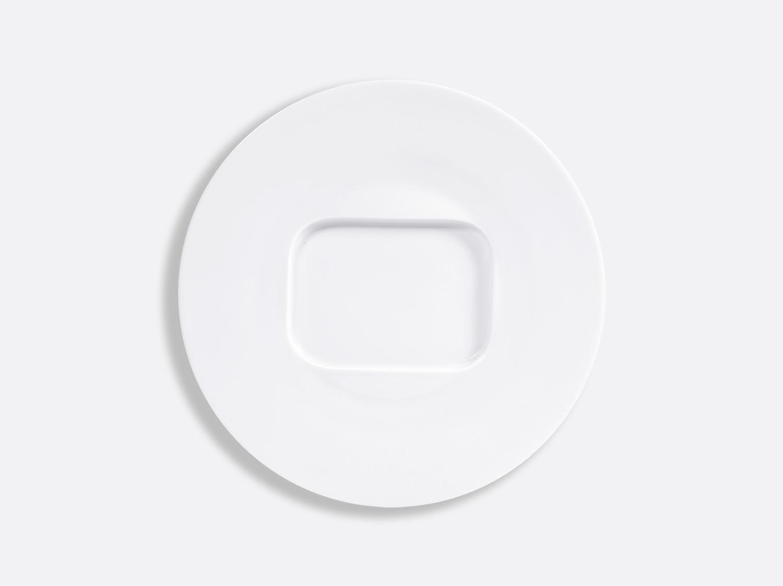 Assiette à sardines 24 cm en porcelaine de la collection FUSION BLANC Bernardaud