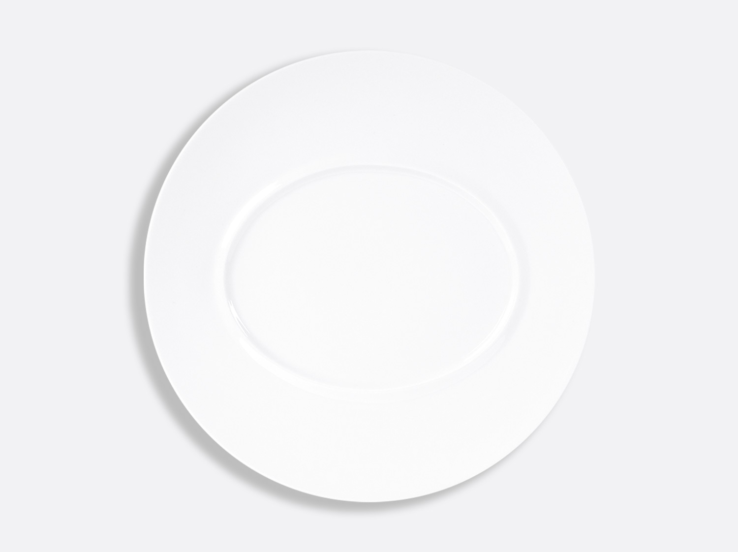 Assiette plate Shogun 29,5 cm en porcelaine de la collection FUSION BLANC Bernardaud