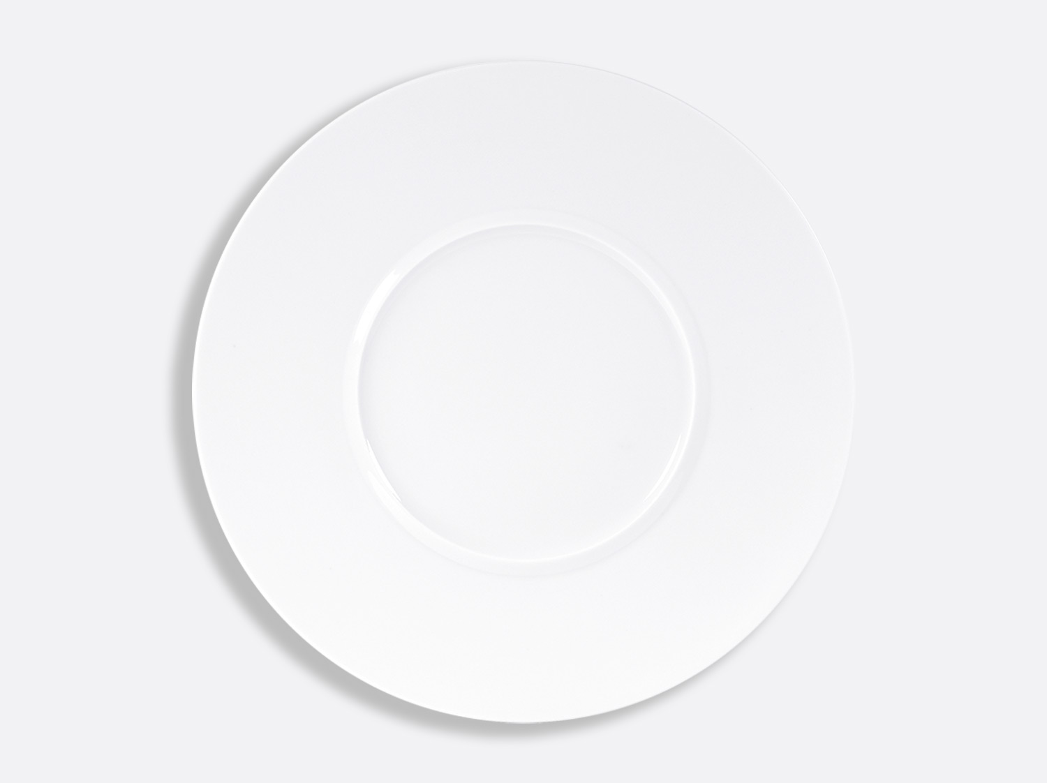 "China Shogun service plate 12.5"" of the collection Fusion blanc 