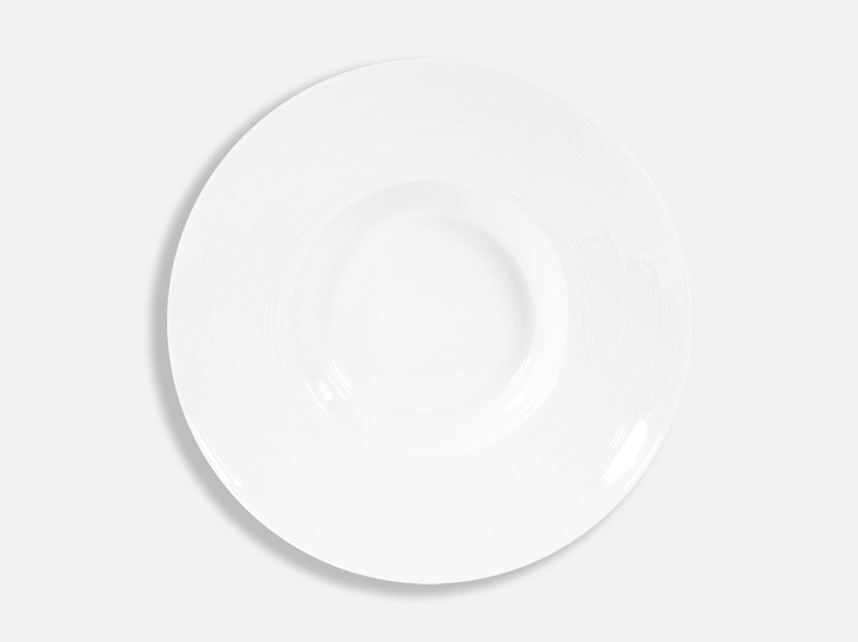 Assiette creuse Pacific 28,5 cm en porcelaine de la collection FUSION BLANC Bernardaud