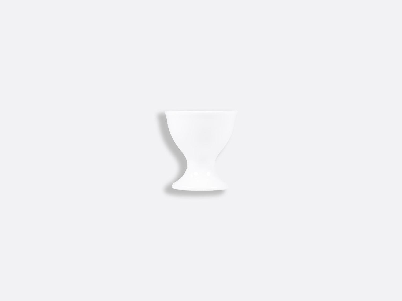 Coquetier à pied en porcelaine de la collection PROVENCE BLANC Bernardaud