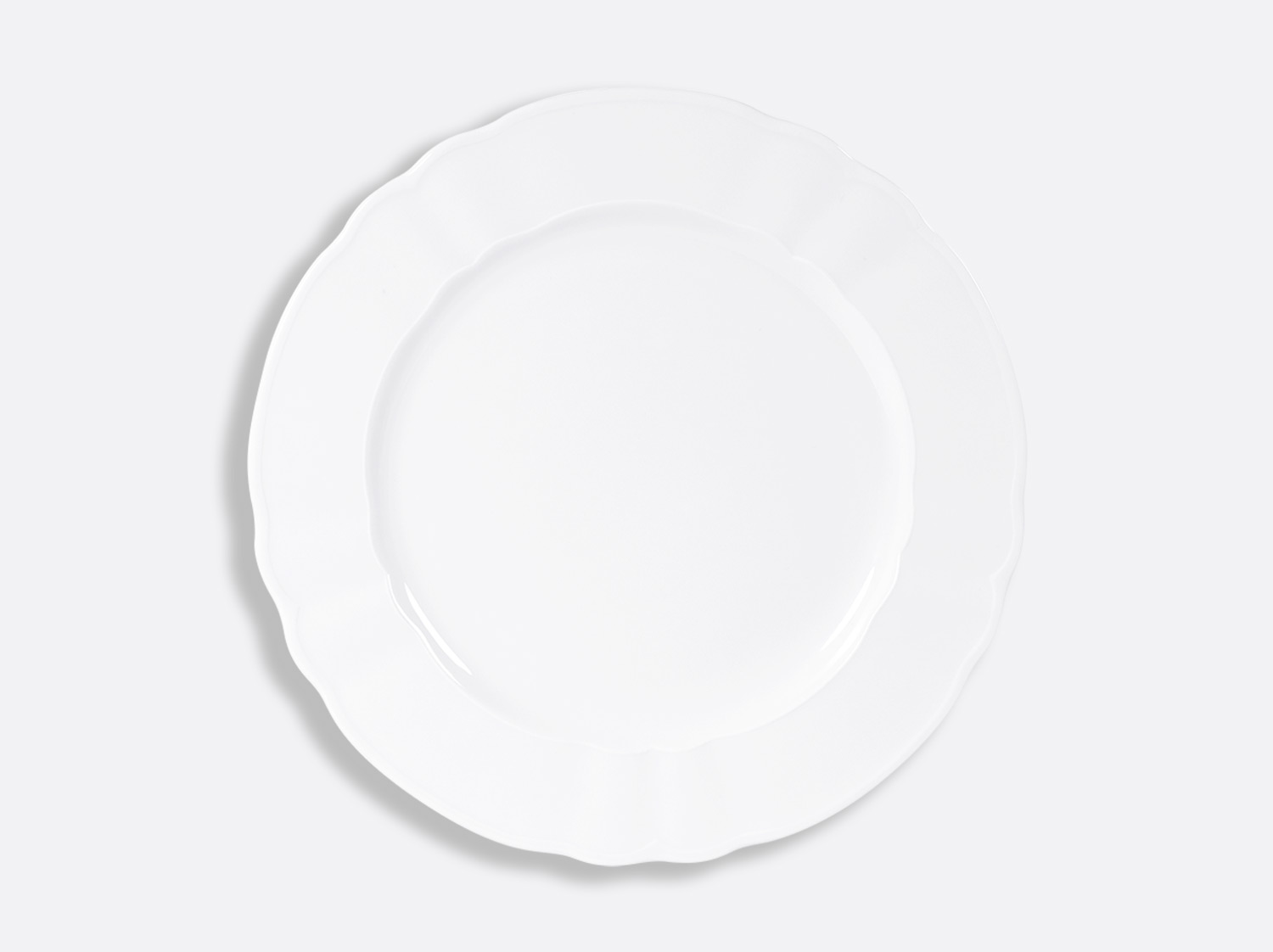 "China Plate 11.6"" of the collection L.15 blanc 