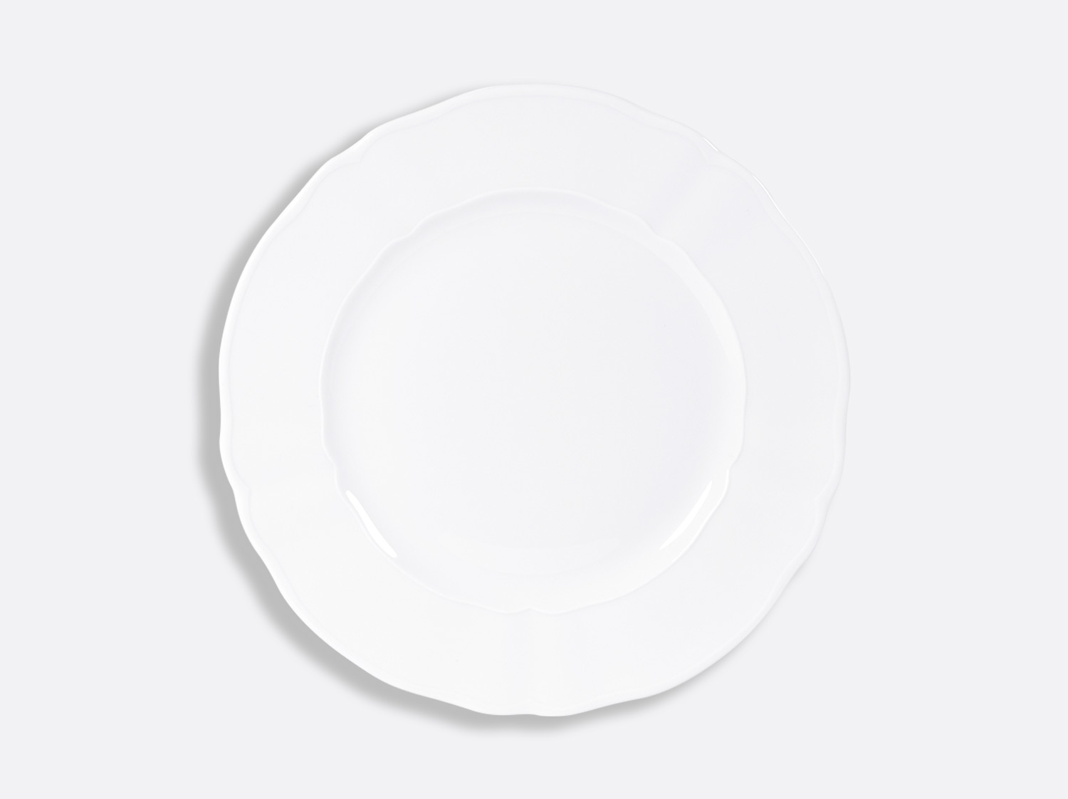 China Plate 26 cm of the collection L.15 blanc | Bernardaud