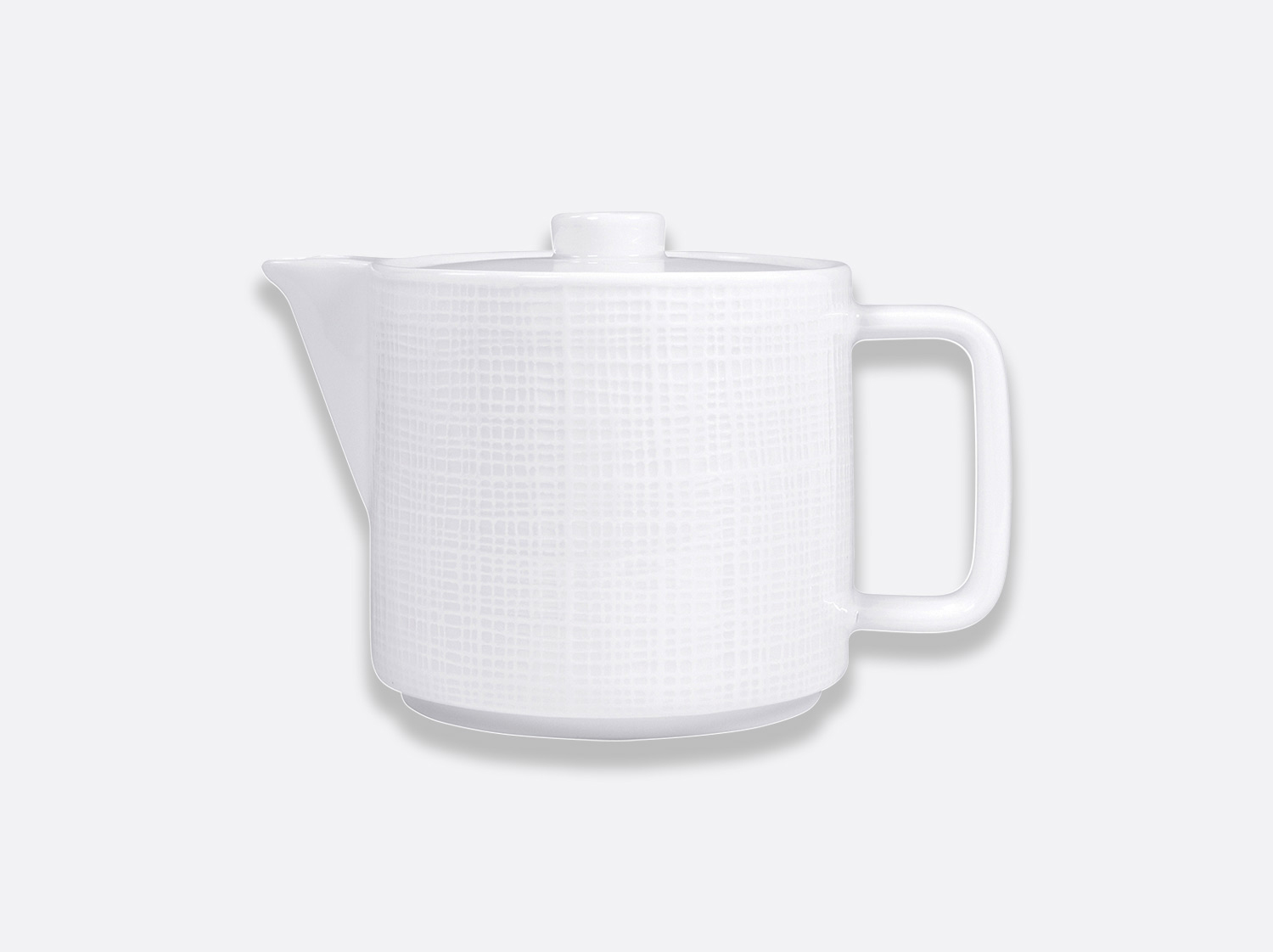 Cafetière 4 tasses 60 cl en porcelaine de la collection ORGANZA BLANC Bernardaud