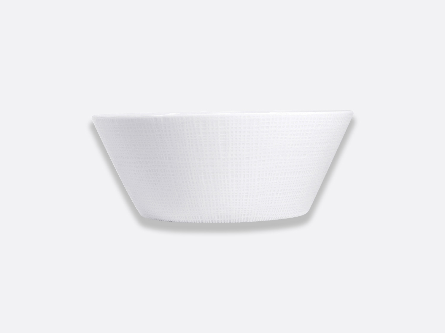 China Salad bowl 1.3 L of the collection Organza blanc | Bernardaud