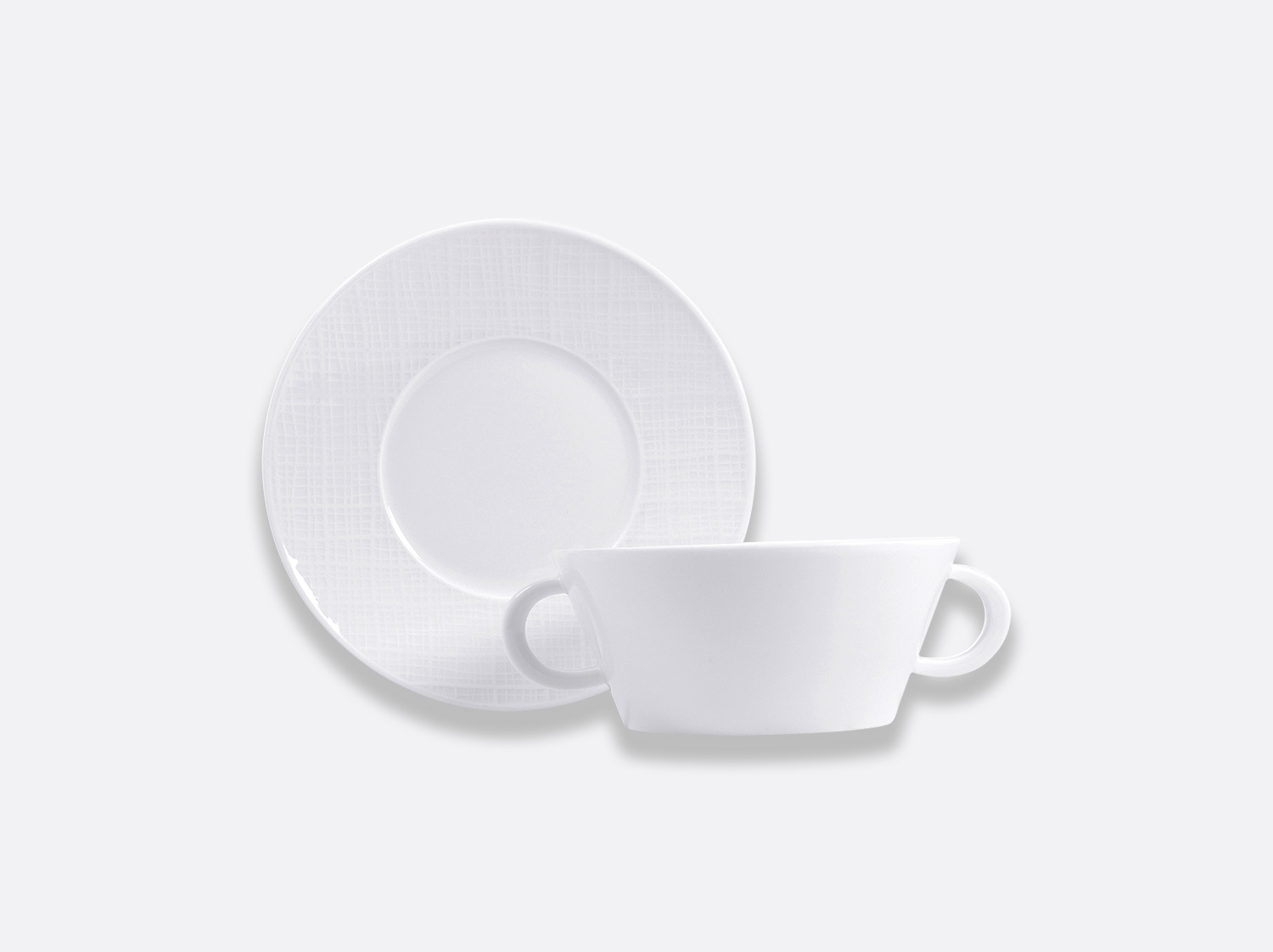 China スープボウル of the collection ORGANZA BLANC | Bernardaud