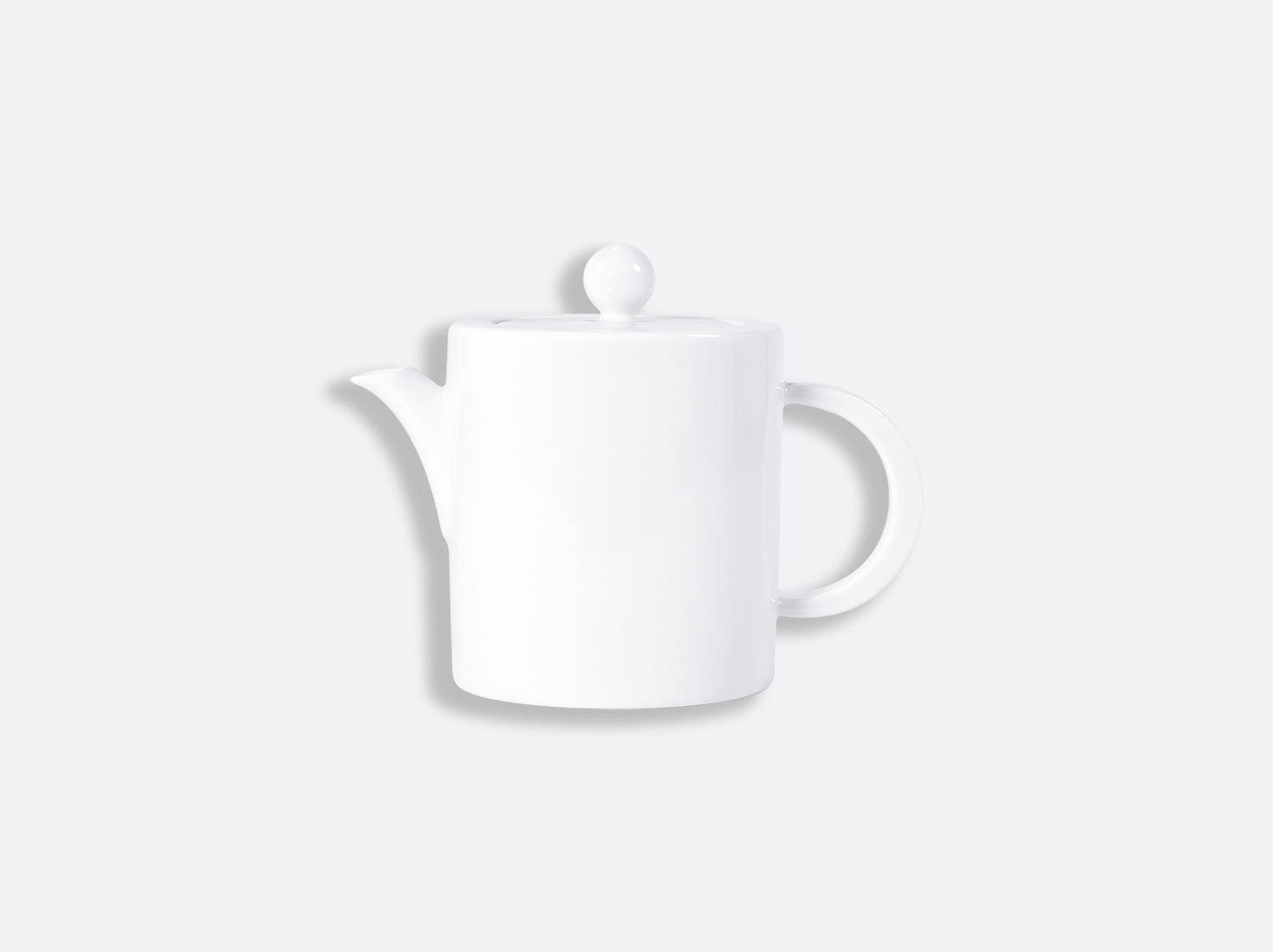 Théière Opus 2 tasses 50 cl en porcelaine de la collection OPUS BLANC Bernardaud