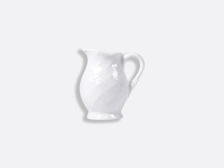 Crémier 15 cl en porcelaine de la collection OSIER BLANC Bernardaud