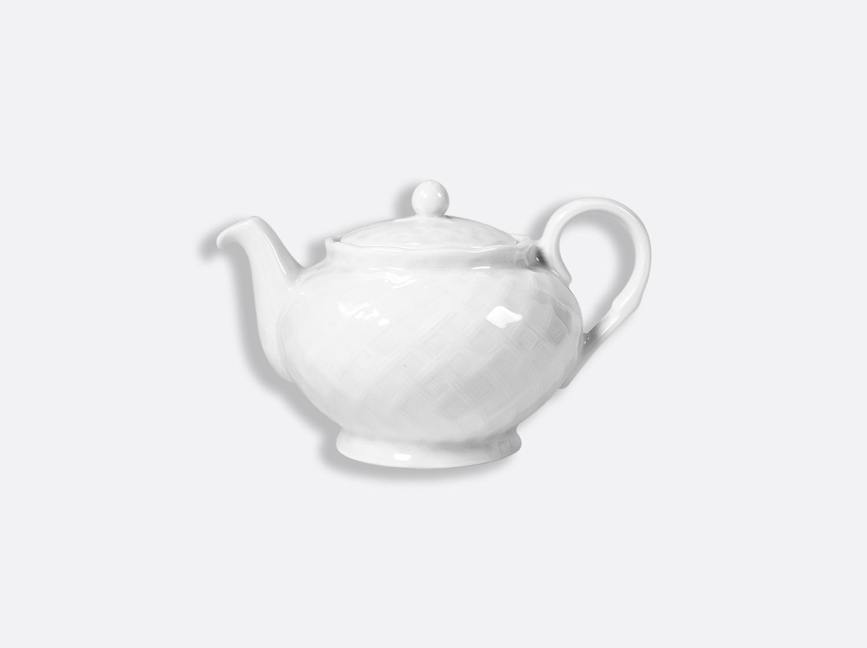 Théière 2 tasses 50 cl en porcelaine de la collection OSIER BLANC Bernardaud