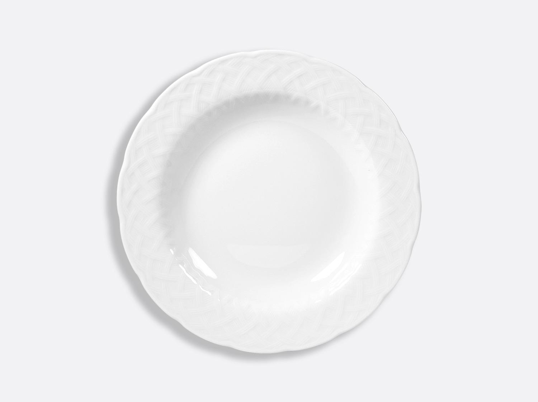 "China Rim soup 9.4"" of the collection Osier blanc | Bernardaud"
