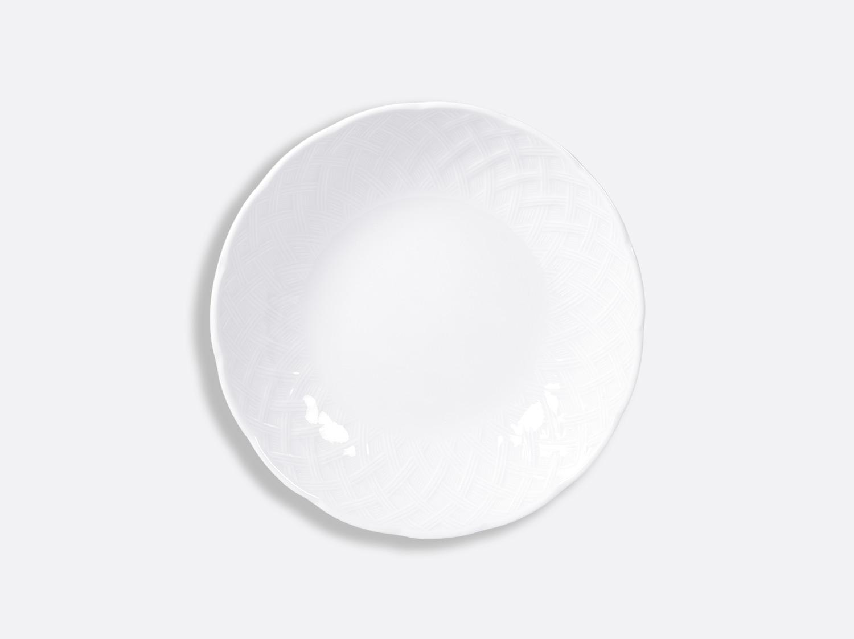 Assiette creuse calotte 18,5 cm en porcelaine de la collection OSIER BLANC Bernardaud
