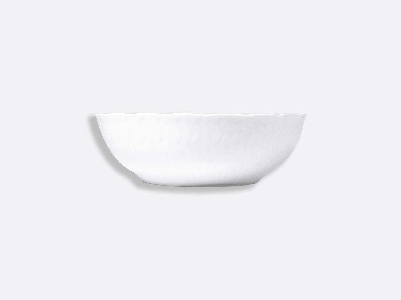 China Salad bowl 80 cl of the collection Osier blanc   Bernardaud