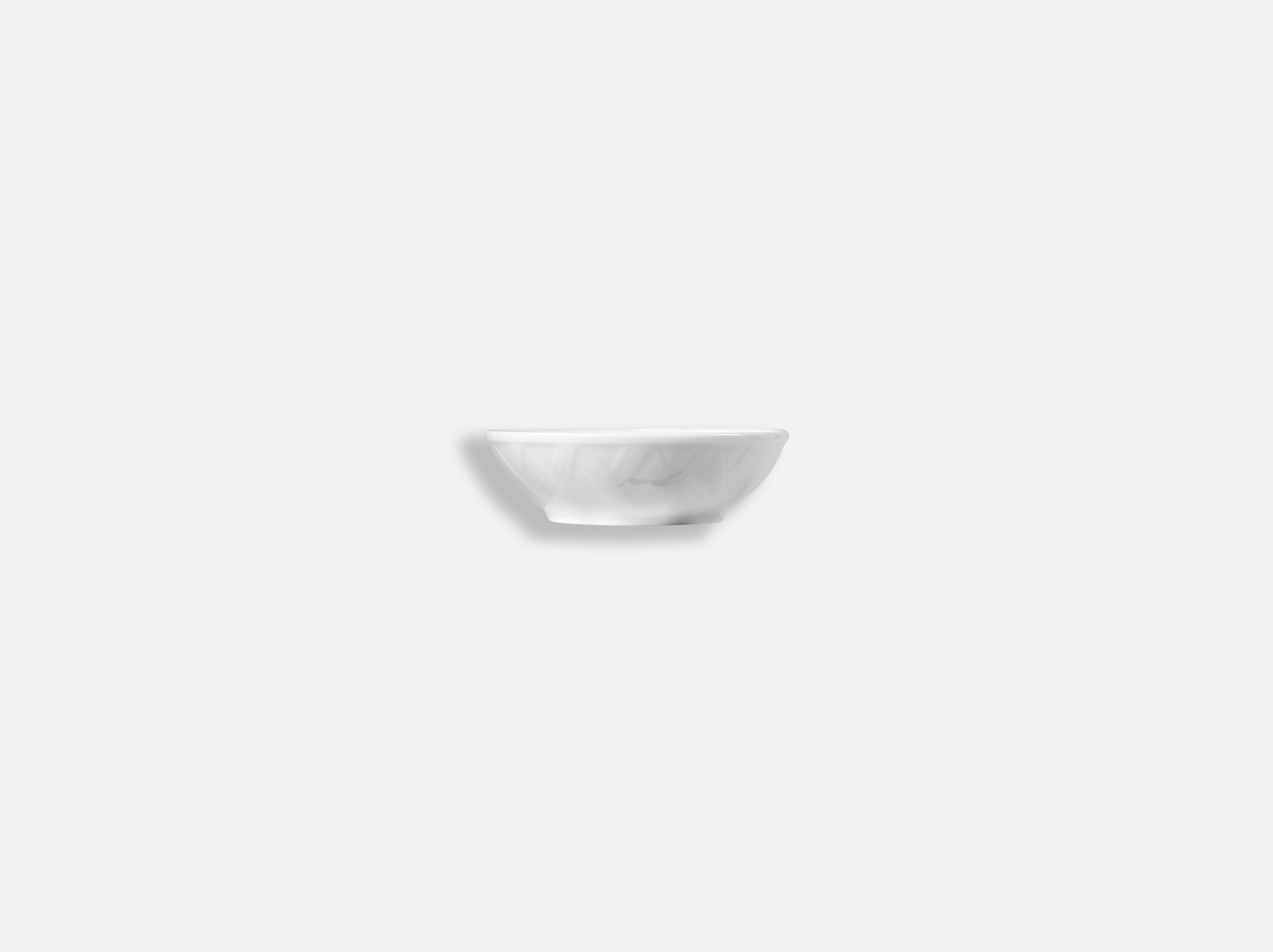 China Butter cup 8 cm of the collection Osier blanc   Bernardaud