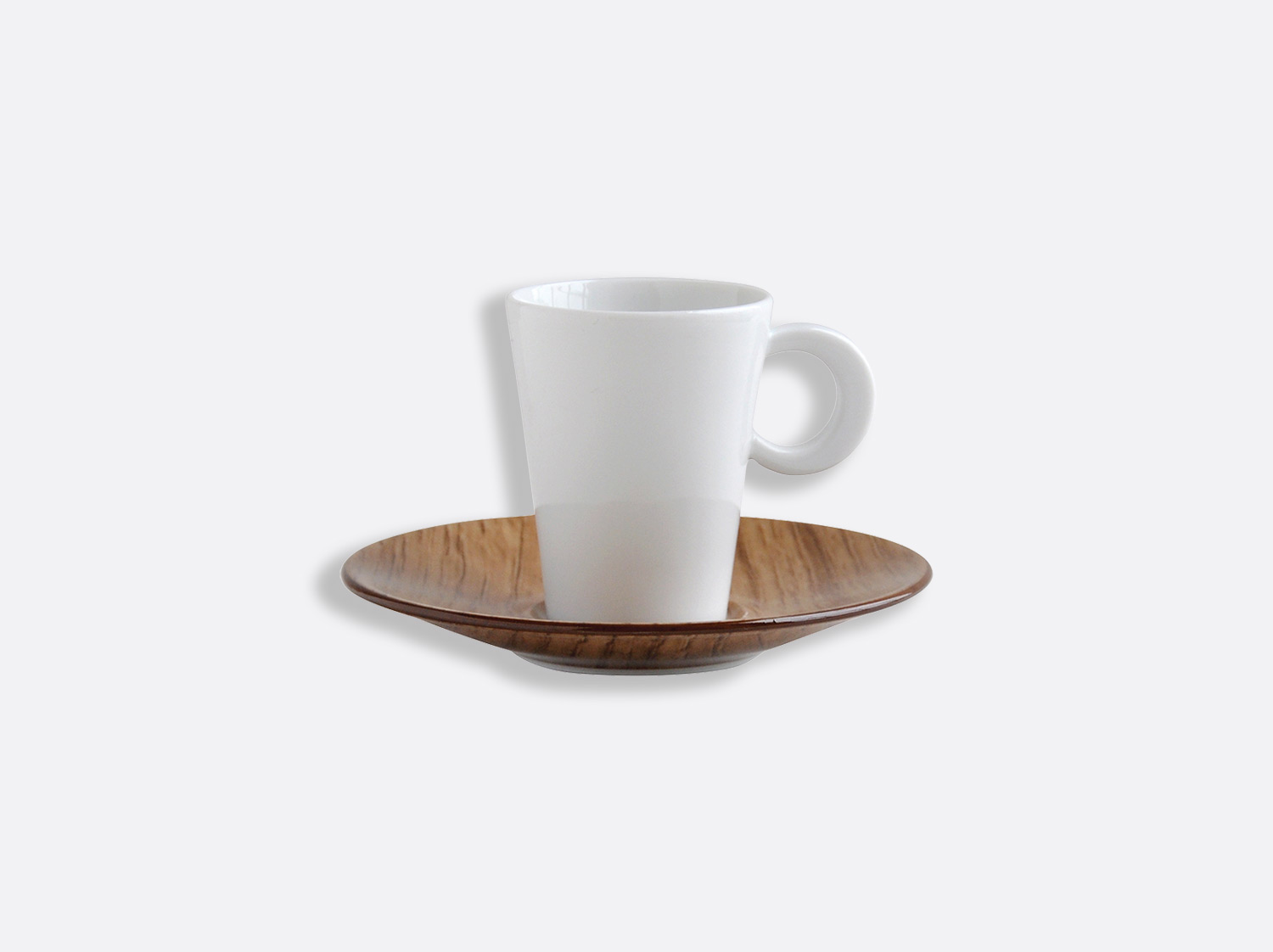 China Coffee cup and saucer 6 cl of the collection Bois Clair | Bernardaud
