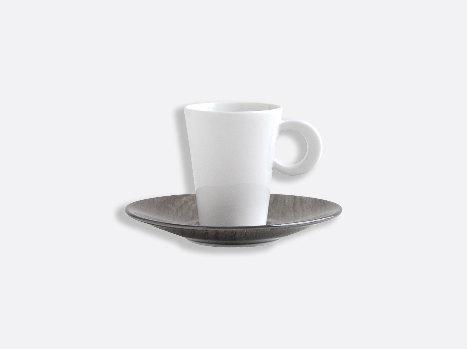 China Coffee cup and saucer 6 cl of the collection Bois Foncé | Bernardaud