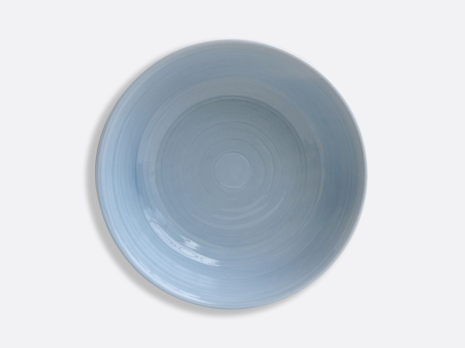 Compotier creux 25 cm - Bleu en porcelaine de la collection Origine bleu Bernardaud
