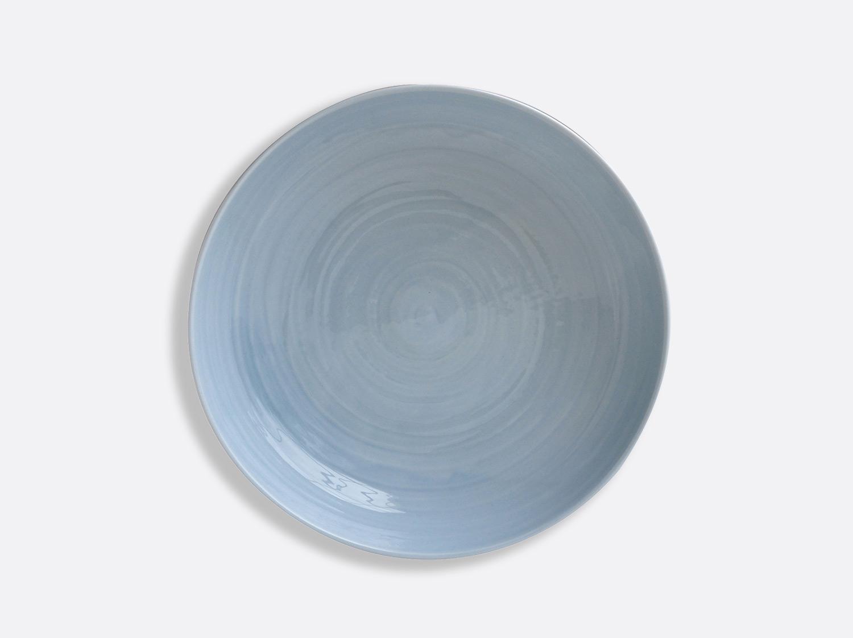 Assiette creuse à pâtes 24 cm - Bleu en porcelaine de la collection Origine bleu Bernardaud