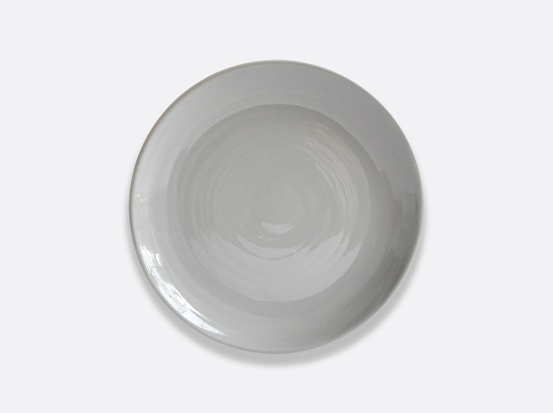 Assiette à dessert 21 cm - Gris en porcelaine de la collection Origine gris Bernardaud