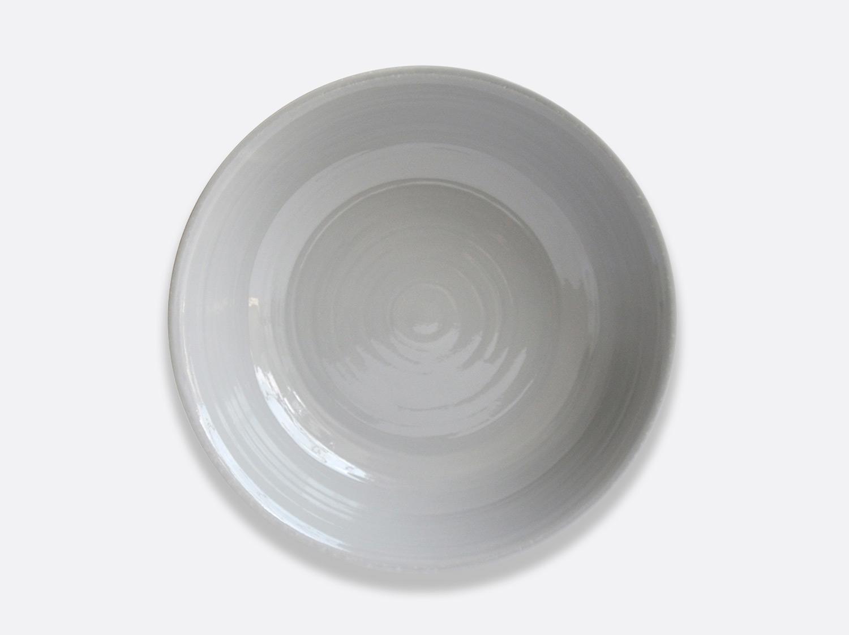 Compotier creux 25 cm - Gris en porcelaine de la collection Origine gris Bernardaud