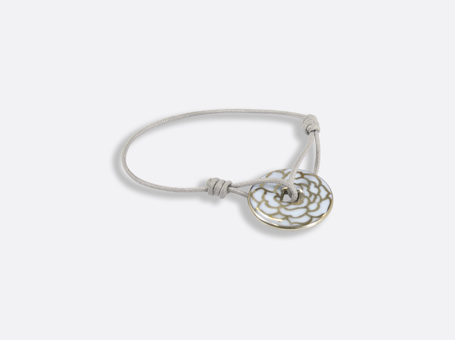 China Talisman bracelet of the collection Gardenia Bleu Platine | Bernardaud