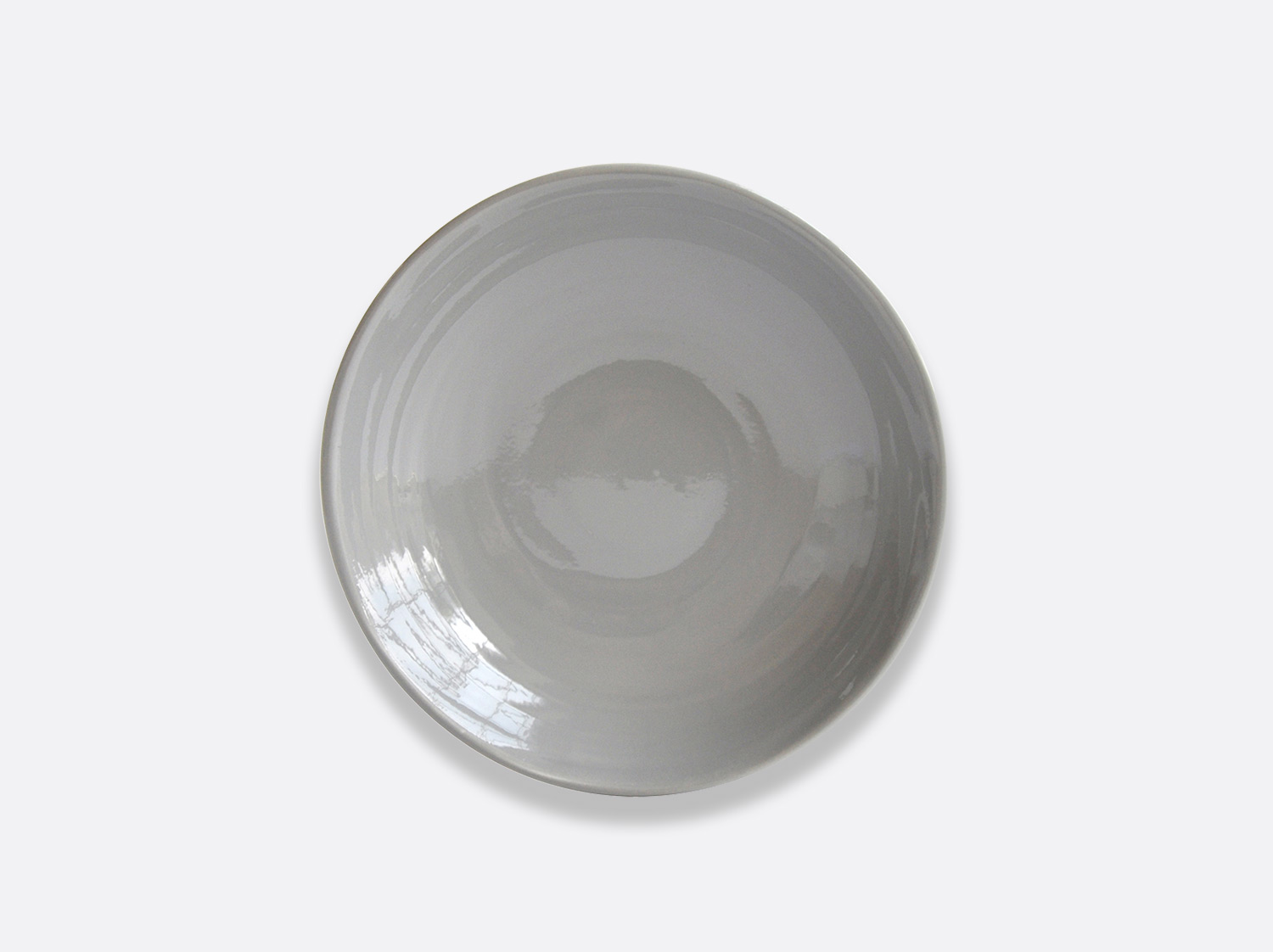 Assiette Gris 16 cm en porcelaine de la collection Origine gris Bernardaud