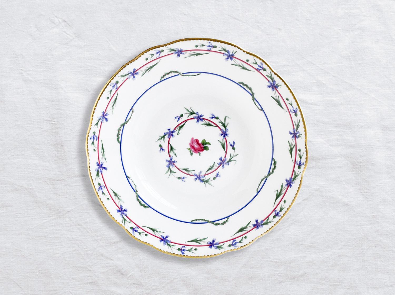 Assiette creuse 22,5 cm en porcelaine de la collection Gobelet du roy Bernardaud