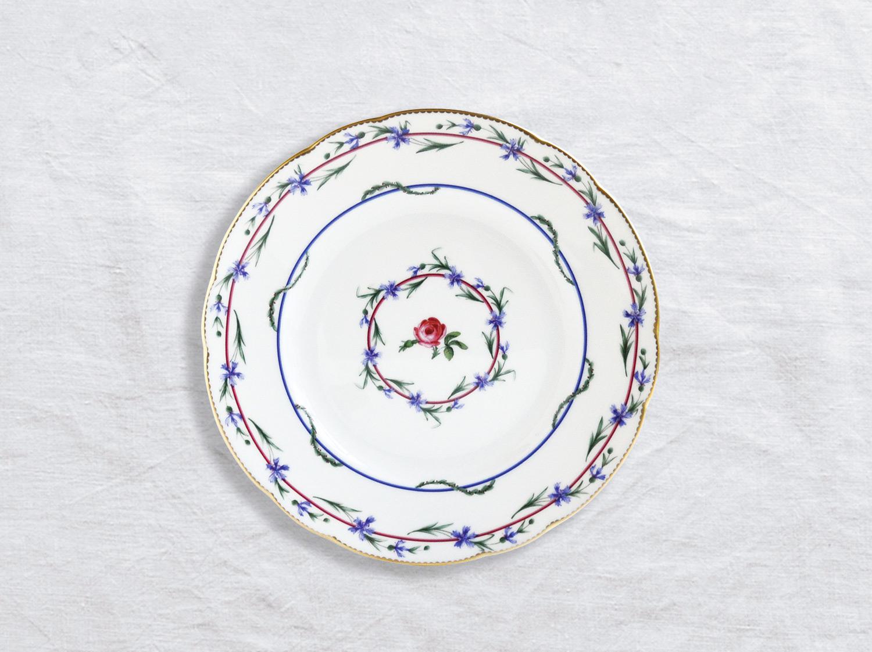 Assiette à dessert 21 cm en porcelaine de la collection Gobelet du roy Bernardaud