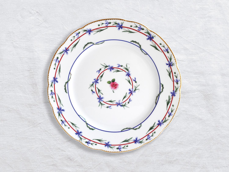 Assiette à diner 26 cm en porcelaine de la collection Gobelet du roy Bernardaud