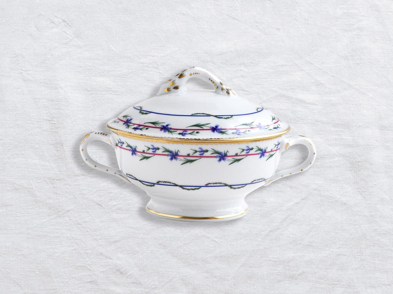Ecuelle couverte (saucière) 44 cl en porcelaine de la collection Gobelet du roy Bernardaud