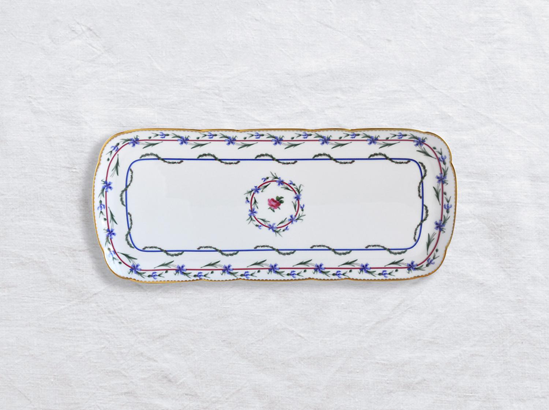 China Cake platter rectangular 38 cm of the collection Gobelet du roy | Bernardaud