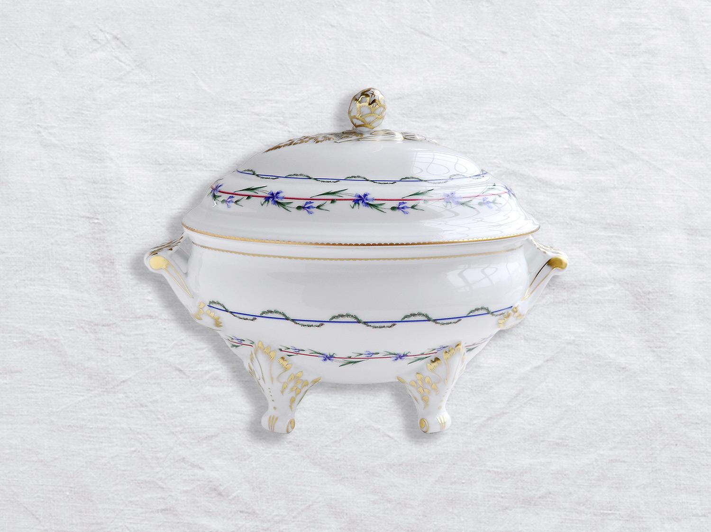 Terrine 2,5 L en porcelaine de la collection Gobelet du roy Bernardaud