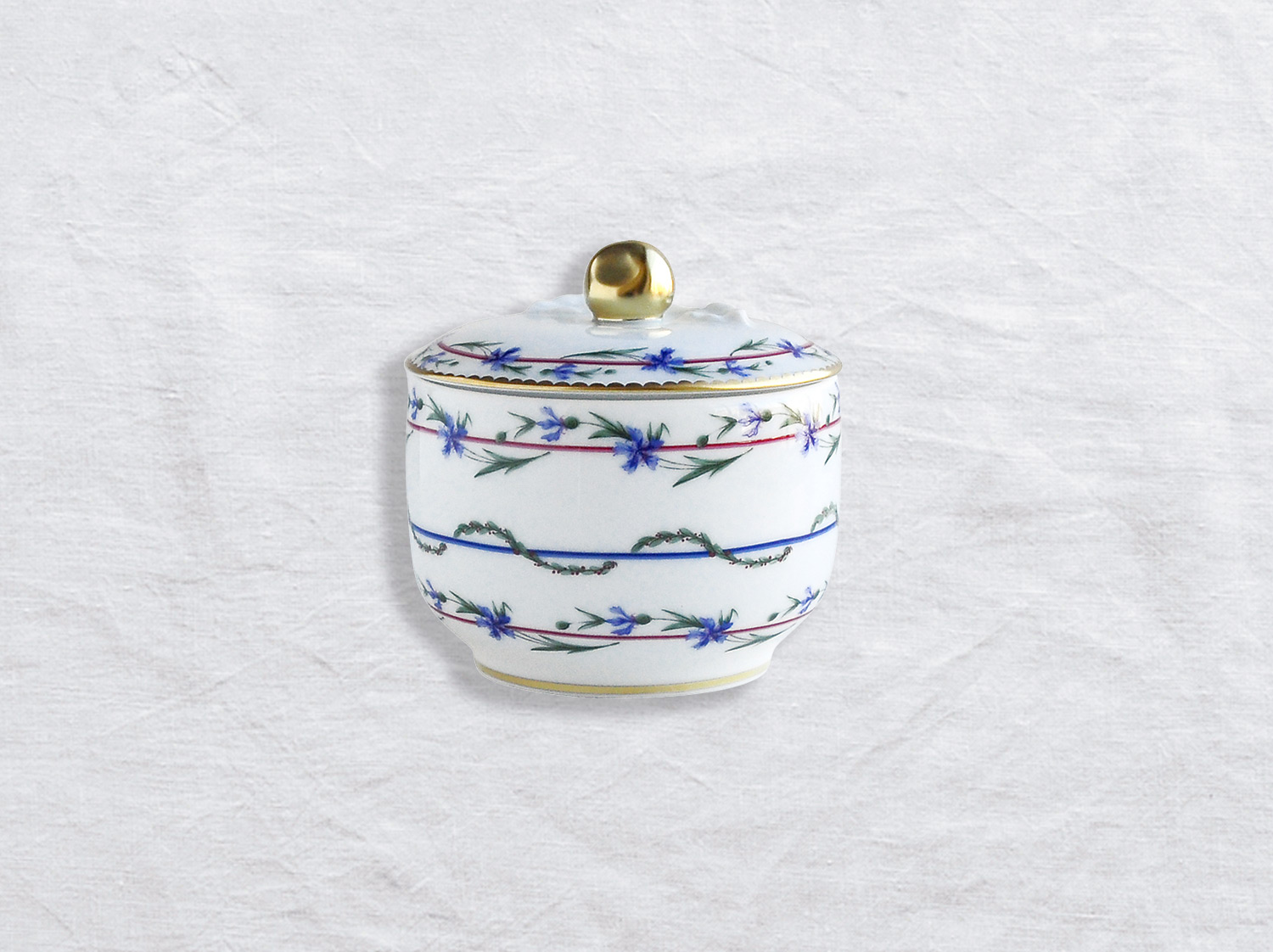 Pot a sucre 6 tasses en porcelaine de la collection Gobelet du roy Bernardaud