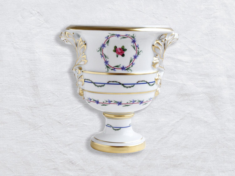 Vase medicis H. 20,5 cm D. 18 cm en porcelaine de la collection Gobelet du roy Bernardaud