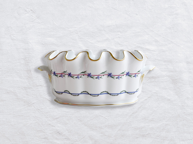 Verrière L. 35,5 cm x l. 22,5 cm x H. 15,5 cm en porcelaine de la collection Gobelet du roy Bernardaud