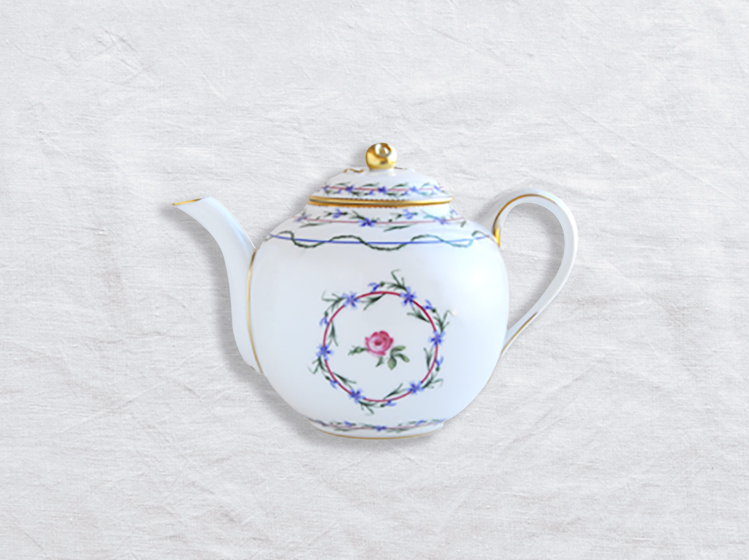 China Teapot 1,1 L of the collection Gobelet du roy | Bernardaud