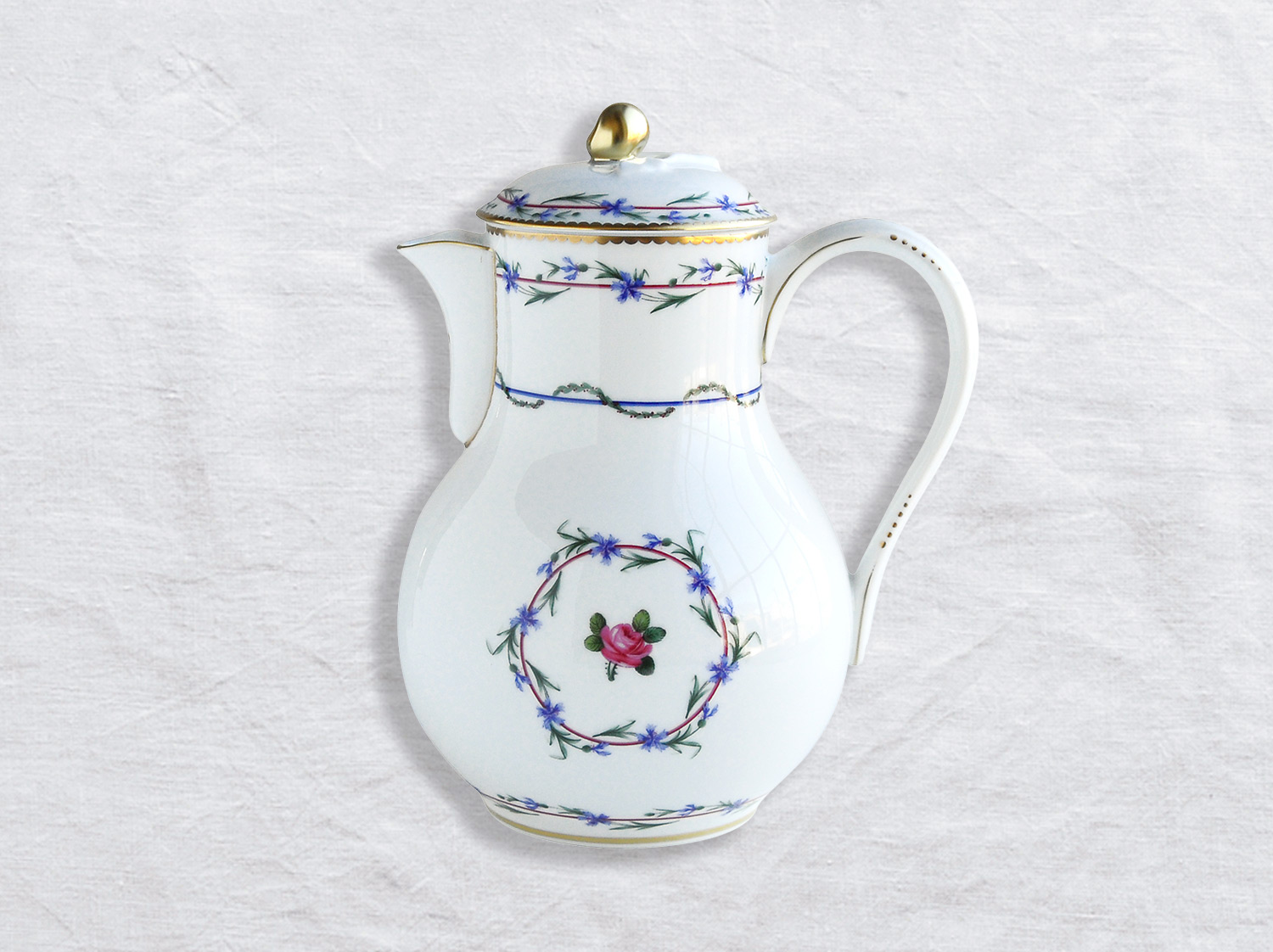 Verseuse haute 12 tasses 1,4 L en porcelaine de la collection Gobelet du roy Bernardaud