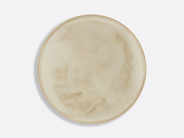 Assiette Domus Grège 27 cm en porcelaine de la collection Celsius Grège Bernardaud