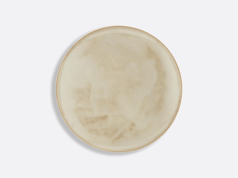 Assiette Domus Grège 21,5 cm en porcelaine de la collection Celsius Grège Bernardaud