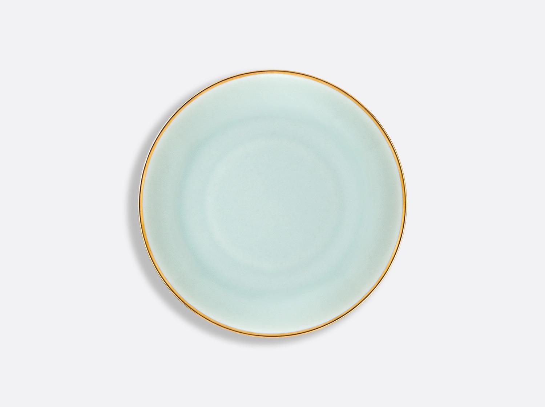 Assiette Domus Celadon Or 16,5 cm en porcelaine de la collection Celsius Celadon Or Bernardaud