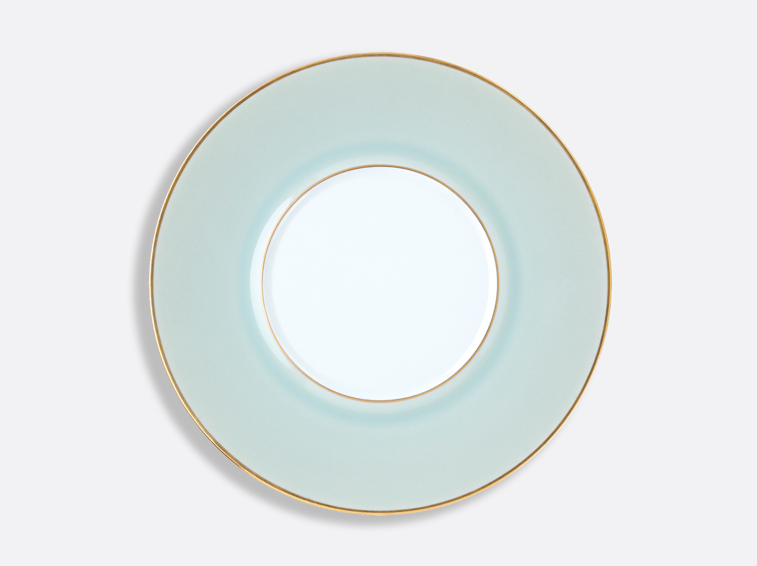 Assiette Shogun Celadon Or 29,5 cm en porcelaine de la collection Celsius Celadon Or Bernardaud