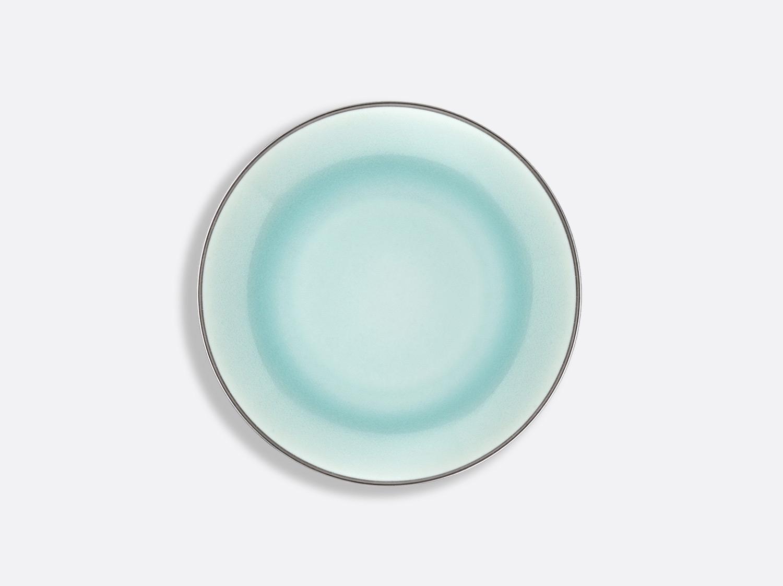 Assiette Domus Celadon Platine 16,5 cm en porcelaine de la collection Celsius Celadon Platine Bernardaud