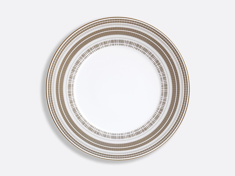 Assiette plate 29,5 cm  en porcelaine de la collection CANISSE Bernardaud