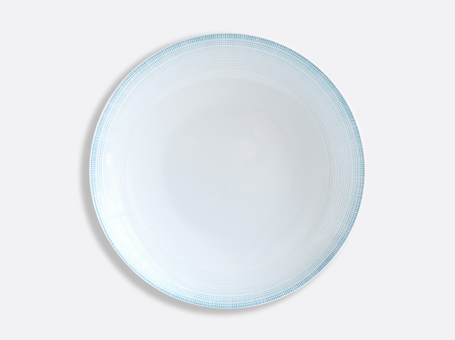 China Deep round dish 29 cm of the collection Saphir Bleu | Bernardaud