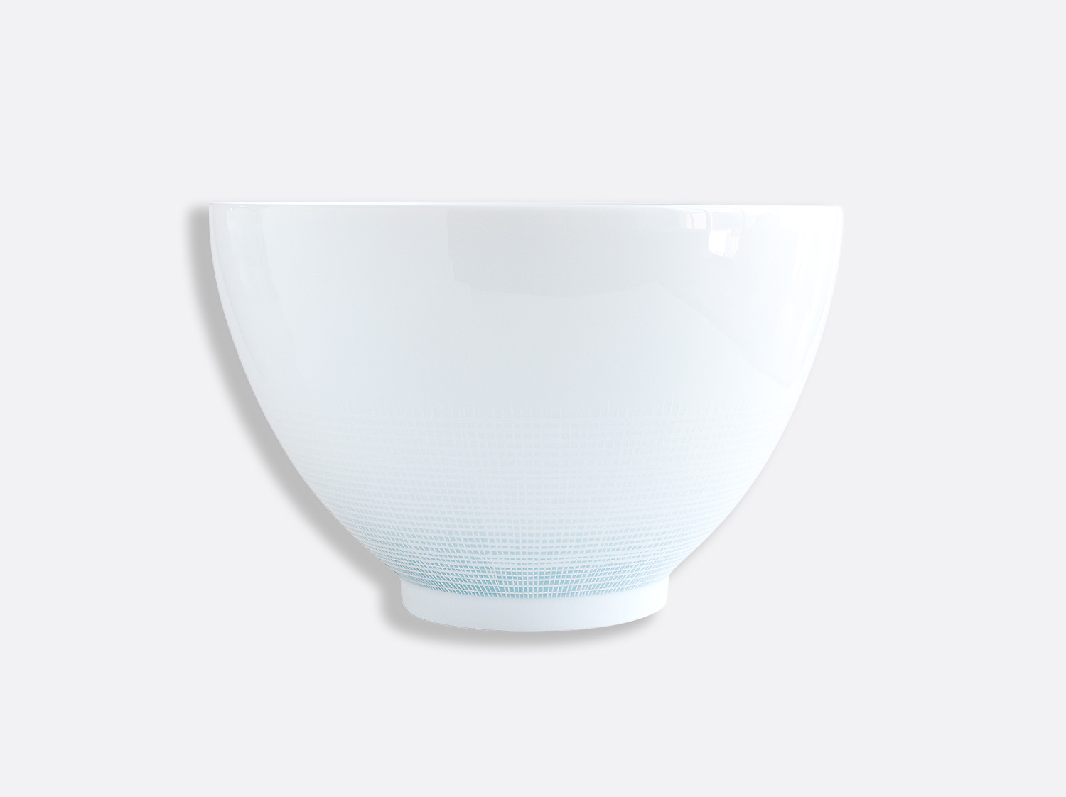 "China Deep salad bowl d. 10.6"" h. 6.7"" 142 oz of the collection Saphir Bleu 