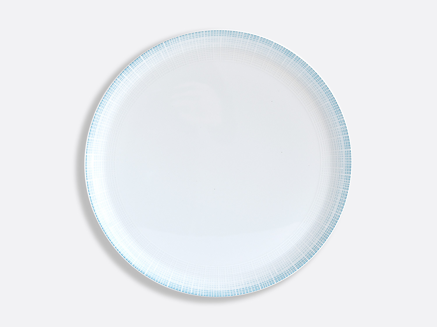 China Round tart platter 32 cm of the collection Saphir Bleu | Bernardaud