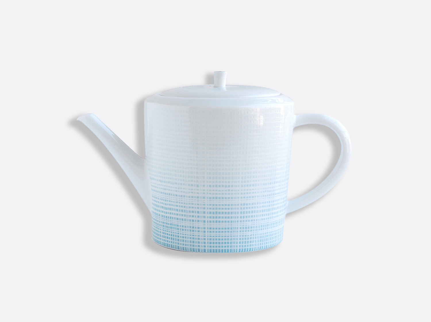 Cafetière 12 tasses 1 L en porcelaine de la collection Saphir Bleu Bernardaud