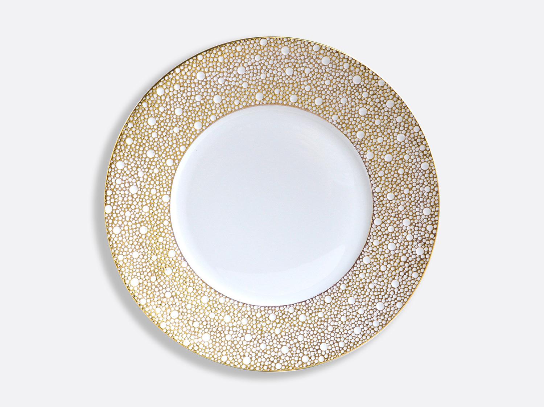 Assiette plate 26 cm en porcelaine de la collection Ecume Mordoré Bernardaud