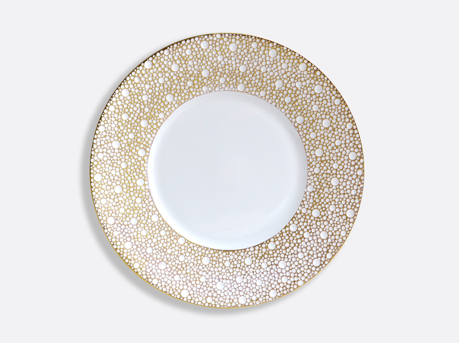 China Plate 21 cm of the collection Ecume Mordoré | Bernardaud