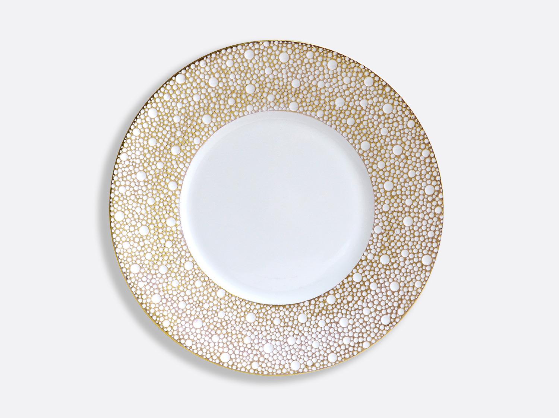 Assiette plate 21 cm en porcelaine de la collection Ecume Mordoré Bernardaud
